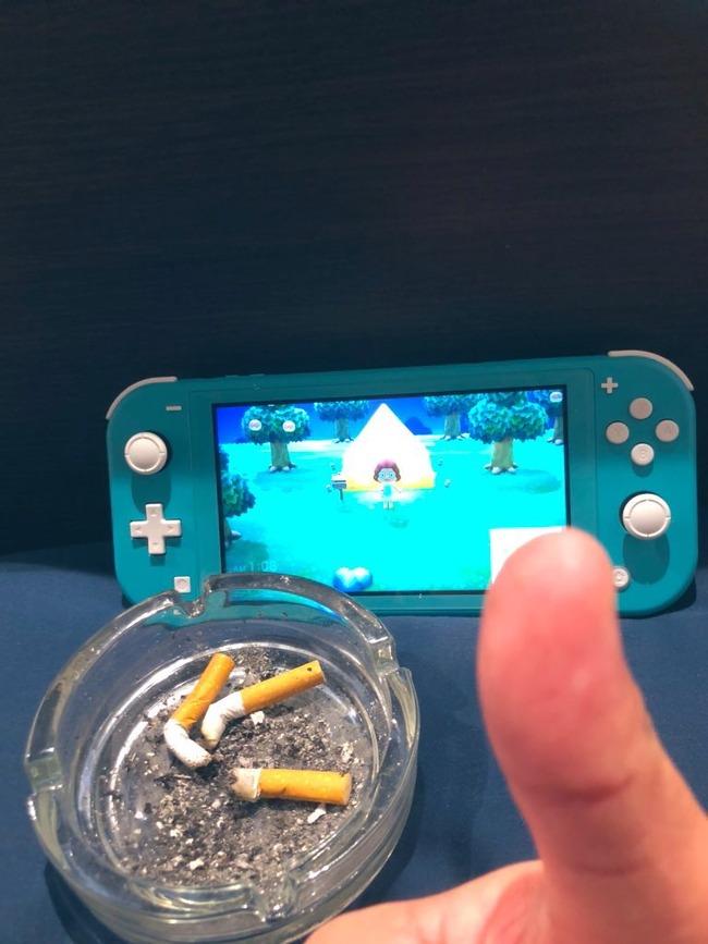 FPS Apex どうぶつの森 タバコ 喫煙者 ゲーマー 吸い殻に関連した画像-03