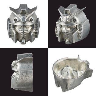 機動戦士ガンダム 伝統工芸 コラボ 高岡鋳物 高岡銅器 シャア専用ザク ぐいのみ 錫製に関連した画像-04