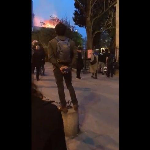 ノートルダム大聖堂 火災 パリ アベマリア 合唱 映像に関連した画像-04
