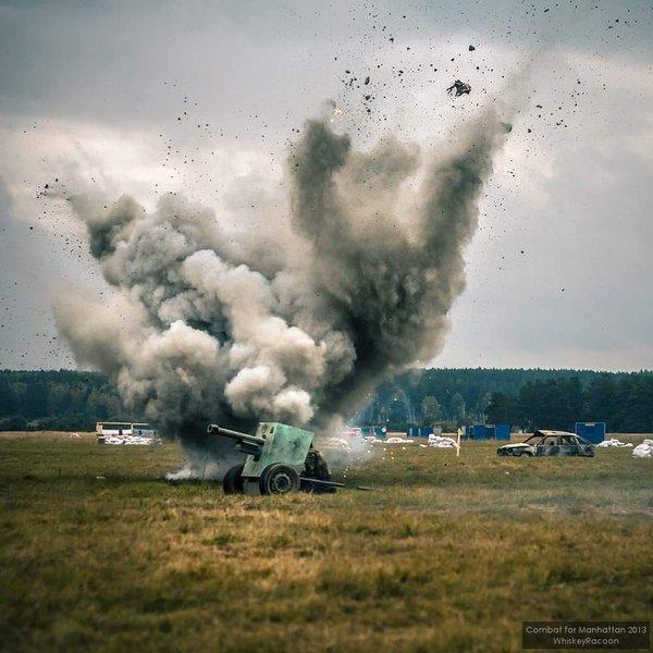 ロシア サバゲー 戦車 4500人 砲撃 爆破に関連した画像-14
