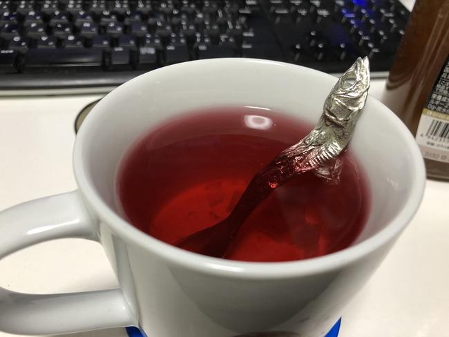 紅茶 ティースプーン いわし 煮干し 出汁に関連した画像-02