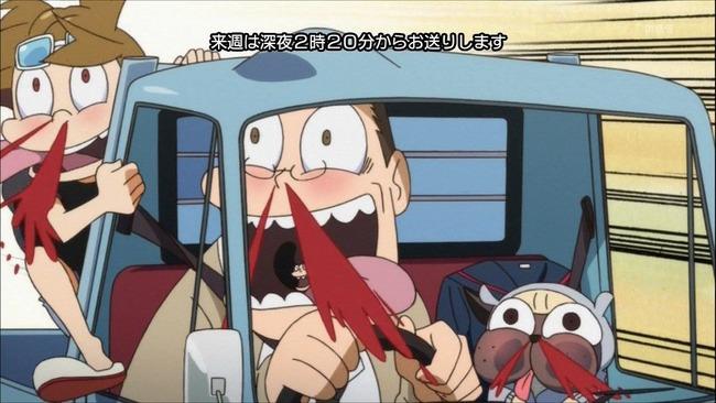 鼻血 アニメに関連した画像-01