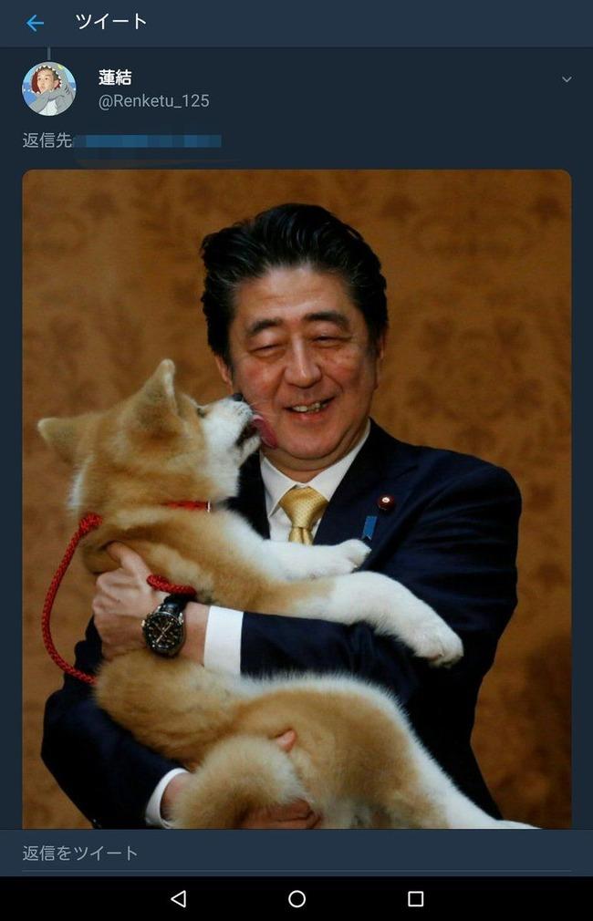 安倍晋三 犬 ザキトワに関連した画像-03