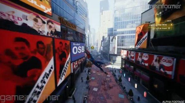 PS4 スパイダーマン プレイ映像に関連した画像-01