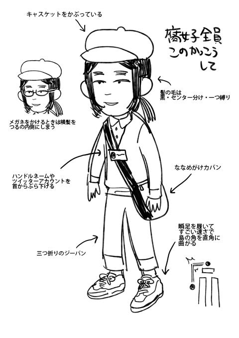 腐女子 ドレスコード ファッション オタク キレイに関連した画像-02