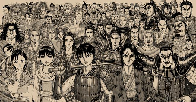 キングダム 漫画 マンガ 山手線に関連した画像-01