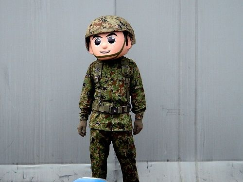 自衛隊 千葉県 ポスター 衛くん ツイッター ツイート ホラー アンパンマンに関連した画像-01