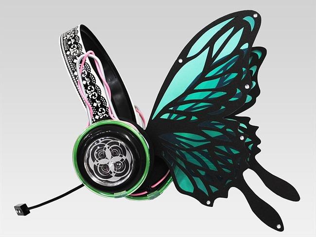 magnet ヘッドホン 蝶々 ボカロに関連した画像-04