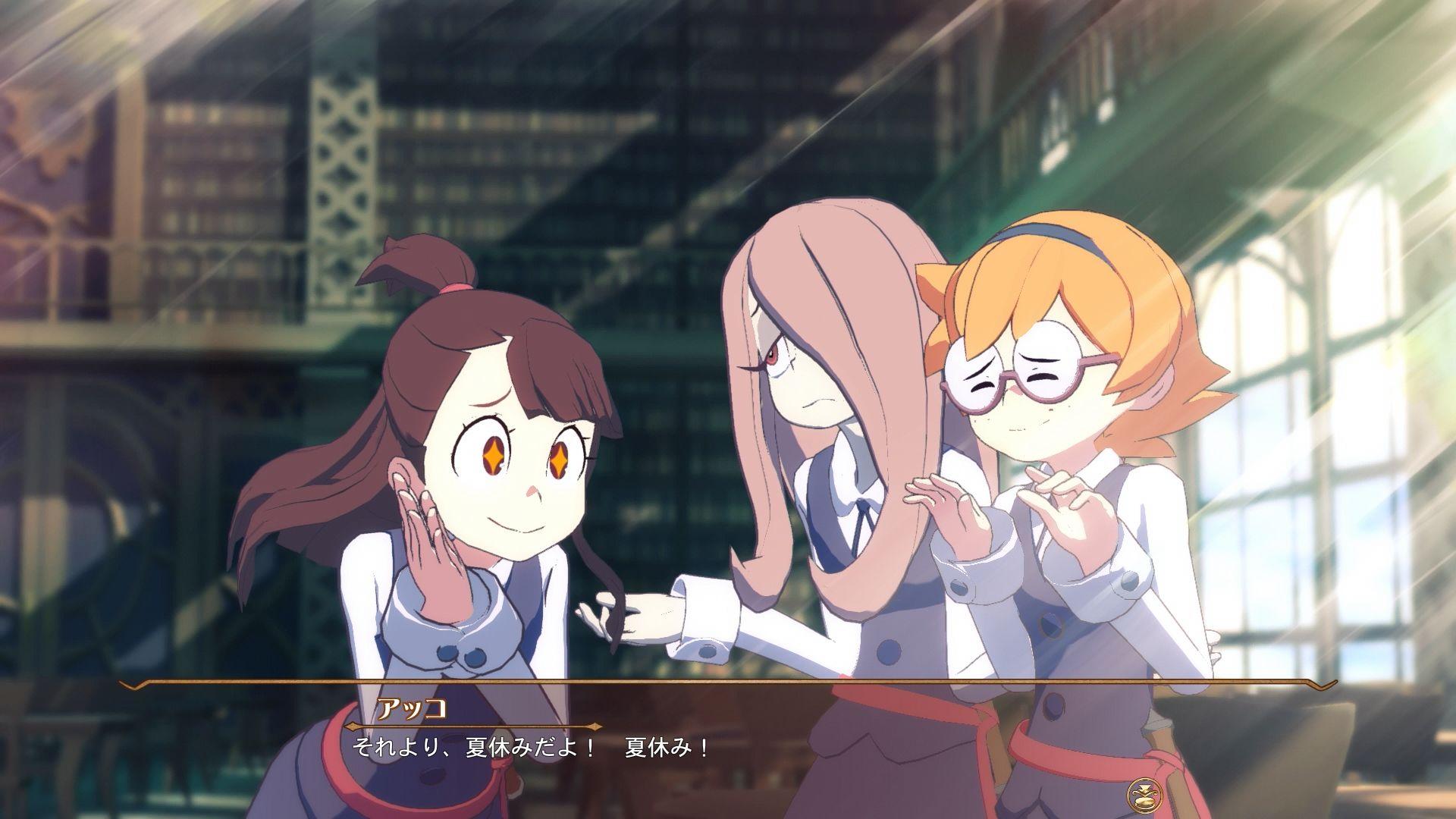 PS4 リトルウィッチアカデミア ゲーム化 発売日 バンダイナムコゲームスに関連した画像-01