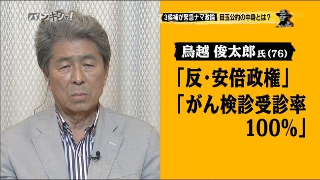 鳥越俊太郎 当知事選 消費税に関連した画像-01