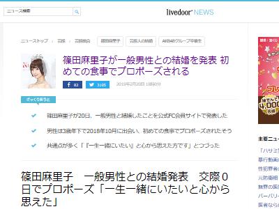 篠田麻里子 結婚 一般男性 AKBに関連した画像-02