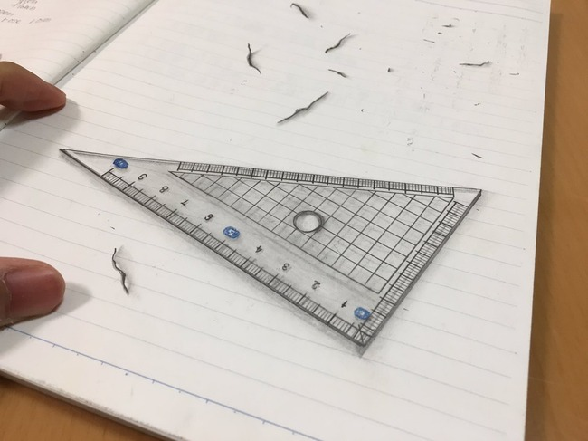 絵 三角定規 手書きに関連した画像-02