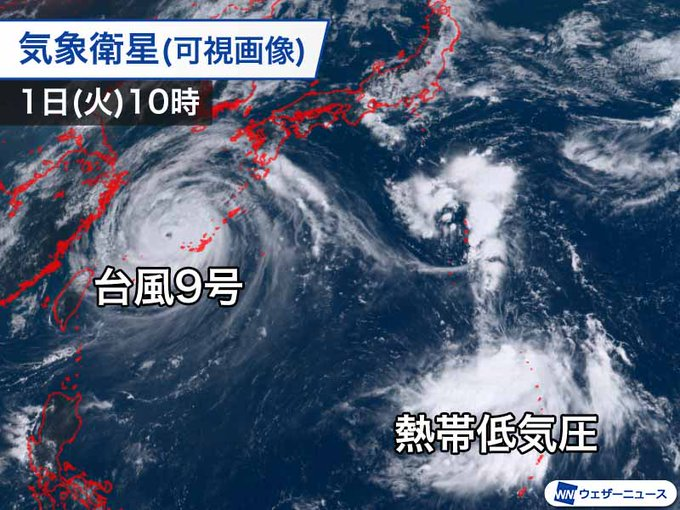 台風 熱帯低気圧に関連した画像-02