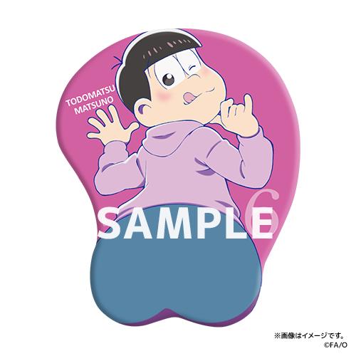 おそ松さん 公式 発売決定 お尻マウスパッド に関連した画像-07