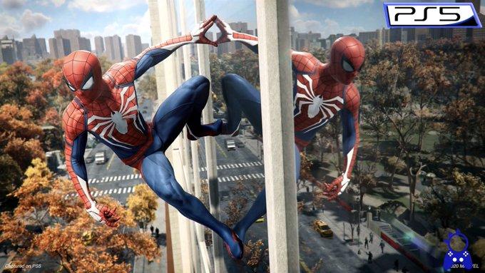 PS5 PS4 スパイダーマン グラフィック レイトレーシングに関連した画像-03