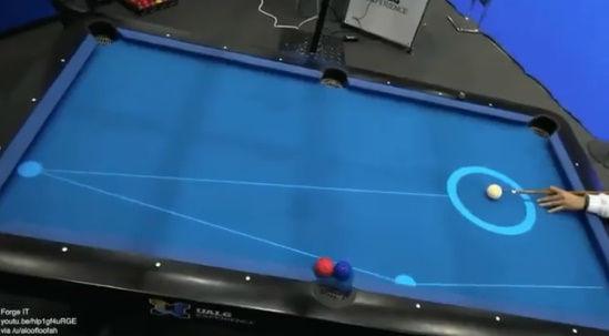 ビリヤード 予測 線 弾道 AR 現実に関連した画像-05
