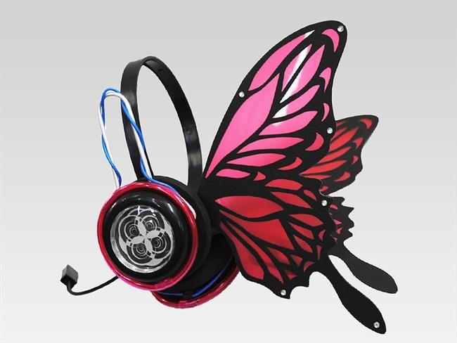 magnet ヘッドホン 蝶々 ボカロに関連した画像-03