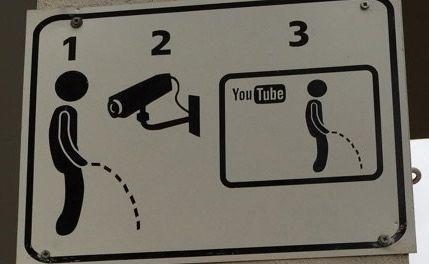 立ちション 立ち小便 YouTube タマ 警告 看板 ネット 監視 に関連した画像-01
