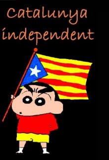 カタルーニャ独立運動 クレヨンしんちゃん 野原しんのすけに関連した画像-02