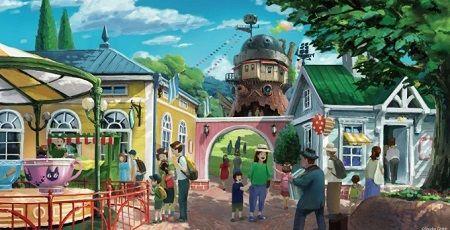ジブリパーク 愛知 開業 ハウルの城 タタラ場に関連した画像-01