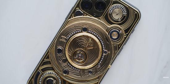 金装飾iPhone11Proに関連した画像-01