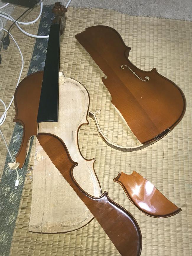 受験生 楽器 破壊に関連した画像-02