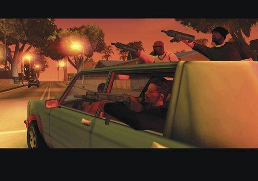 GTA SA グランドセフトオート サンアンドレアス PS3 リメイク 移植 ロックスターゲームスに関連した画像-04