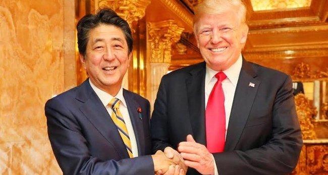 トランプ大統領 安倍総理 ノーベル平和賞 推薦に関連した画像-01