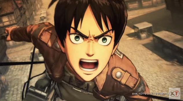 進撃の巨人 PS4 ゲーム PVに関連した画像-05