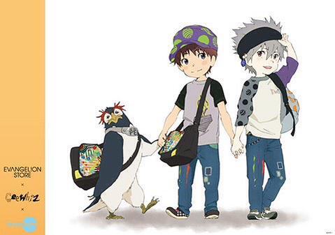 エヴァ コラボ 子供服 シンジ カヲルに関連した画像-01