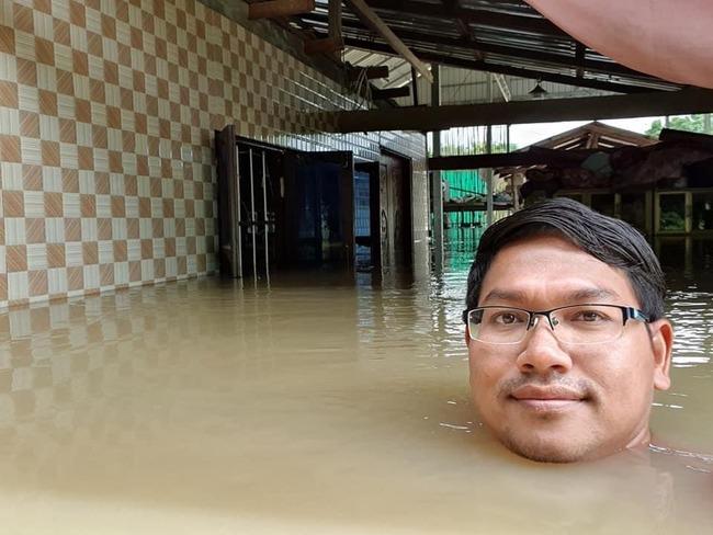 カンボジア人 強メンタル 洪水 ワニに関連した画像-02