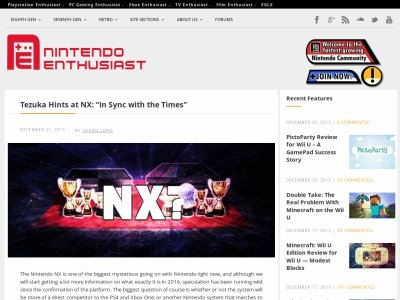 NX 任天堂  手塚卓志 PS4 性能に関連した画像-02