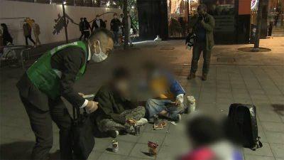 東京 歌舞伎町 路上飲み ゴミ 散乱に関連した画像-01