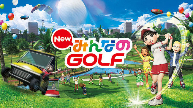 New みんなのゴルフ キャラメイクに関連した画像-01
