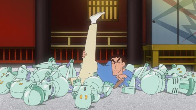 クレヨンしんちゃん 野原ひろし 足の臭い フィギュアに関連した画像-01
