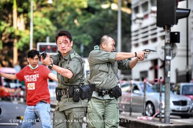 香港デモ 実弾 発泡に関連した画像-01