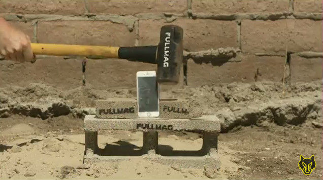 iPhone6S 脆弱性 ハンマー 液体窒素 YouTube 動画 ライフル ミキサー 破壊 スマートフォンに関連した画像-05