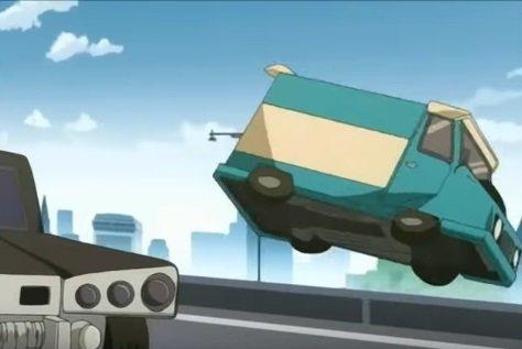 山道 追い越し 軽自動車 トラック 事故 ドライブレコーダーに関連した画像-01