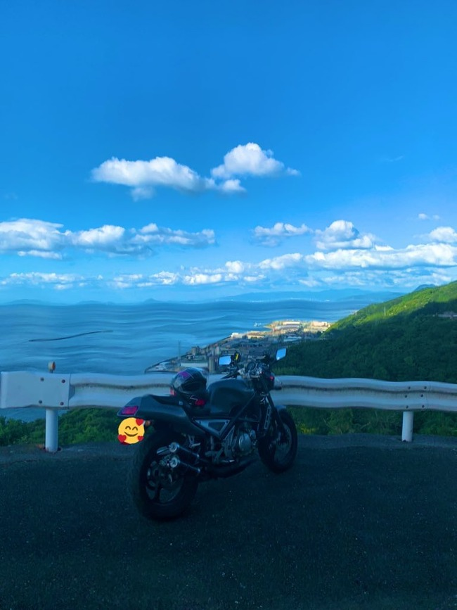 バイク スマホ 故障 写真 ゴッホ グニャグニャに関連した画像-02