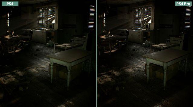 バイオハザード 比較 PS4 PS4Proに関連した画像-05