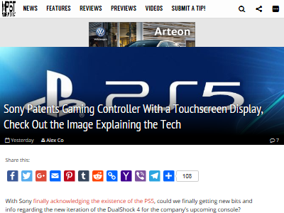 PS5 コントローラー 特許に関連した画像-02