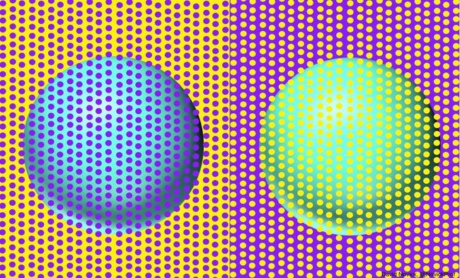 球体 色 目の錯覚に関連した画像-02