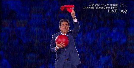 リオ五輪 安倍首相 マリオ アメリカ産 任天堂 ツイッターに関連した画像-01
