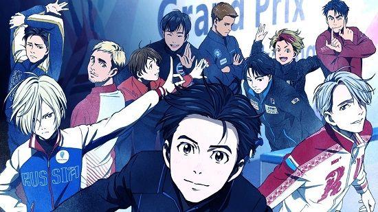 【速報】アニメ『ユーリ!!! on ICE』、完全新作劇場版が制作決定!!
