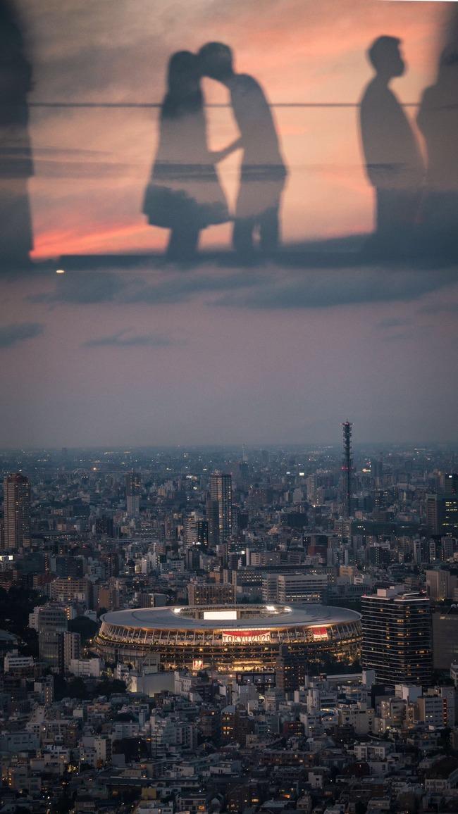 渋谷スクランブルスクエア 渋谷 東京オリンピック 国立競技場 リア充 エモい 写真に関連した画像-02