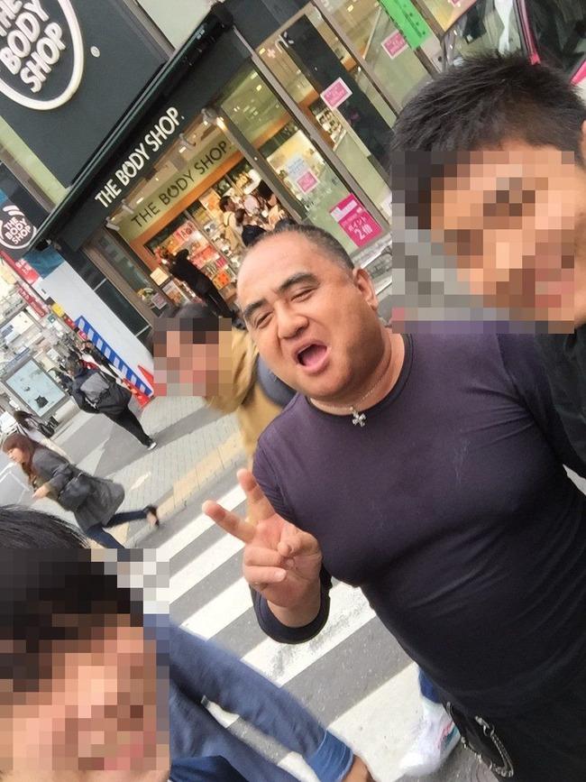 性の喜びおじさん 渋谷 記念撮影に関連した画像-05