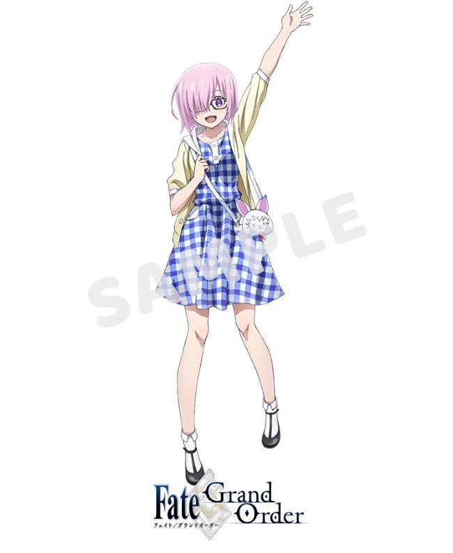 FGO フェイト グランドオーダー Fate マシュ 私服に関連した画像-04