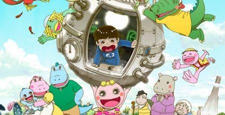 『がんこちゃん』初のTVアニメ化決定!人類が滅んだ舞台に過去からタイムスリップしてきた少年が降り立つ!