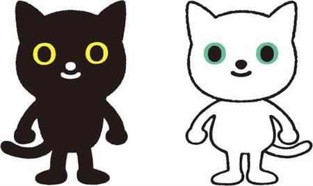 ヤマト キャラクター クロネコ・シロネコ リニューアル デザインに関連した画像-06