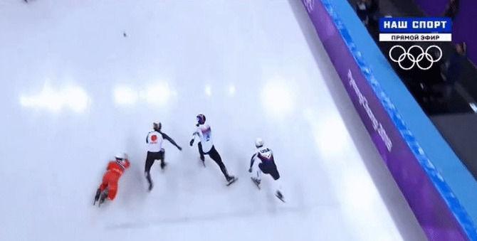 オリンピック 五輪 スピードスケート ショートトラック 北朝鮮 妨害に関連した画像-03